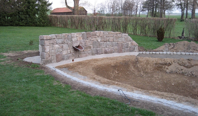 Bauunternehmung Mierzwa - Teichbau